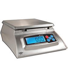 Digital Kitchen Weighing Scales - MyWeigh KD-8000 - 8 kg Max x 1g Display Silver
