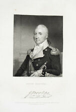 1835 John Brooks STEEL ENGRAVING portrait by Durand after Herring & Stuart