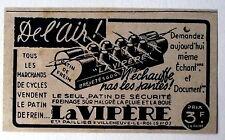 Publicité ancienne Patin de frein,La Vipére,velo,bicyclette 1939