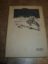 The Annual Roundup Roosevelt High School Des Moines, Iowa: 1939 Yearbook