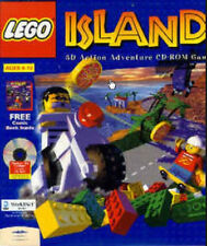 LEGO Island Action Adventure PC build explore animated island new CD Win7/8 test