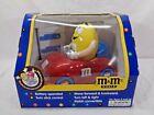 M&M's World Radio Control Car Dispenser M & M Yellow Peanut Battery Operated