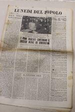 Lunedi del popolo     18 marzo  1946 De Zan Vincitore -Coppa Caldirola