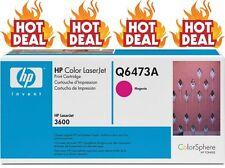 HP Genuine/Original 502A Q6473A MAGENTA TONER PRINTER Cartridge 3600/3600dn*NEW*