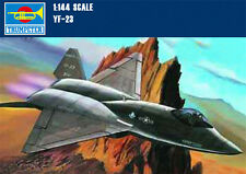 Trumpeter 01332 1/144 Scale USA YF-23 LightningⅡ Fighter Aircraft Model Kits