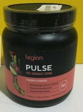 Legion Pulse Pre Workout Drink Cherry Limeade 21 Servings Dietary Exp 3/23