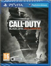 CALL OF DUTY: BLACK OPS DECLASSIFIED GAME PS Vita Playstation ~ NEW / SEALED