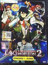 Log Horizon: Season 2 (Chapter 1 - 25 End) ~ 2-DVD ~ English Subtitle ~ Anime