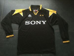 Maillot Kappa Juventus Turin Noir Taille L Black Ligu des champions vintage sony