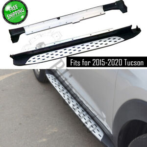 Fits for Hyundai Tucson 2015-2020 side step nerf bars running board car pedals