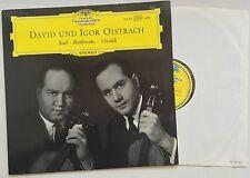 DAVID UND IGOR OISTRACH Bach Beethoven Vivaldi DGG 138 714 SLPM TULIPS VG++/EX