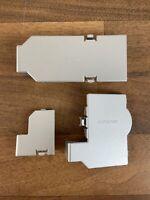 Genuine set of Serial Port Covers For Silver Nintendo Gamecube