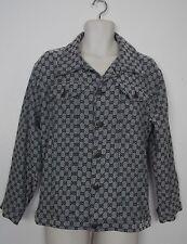 VINTAGE GUCCI GG MONOGRAM Mens Womens Jacket Shirt Blouse Top M L XL- WOW!!