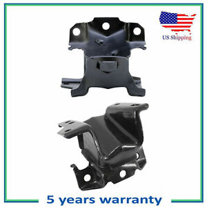 2PCS Engine Motor Mount For Chevrolet Silverado GMC Sierra 2500 3500 3500HD 6.6L