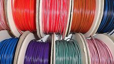 12v cable wire - 10m length - 1mm² 16.5 amp car auto marine 77 COLOURS AVAILABLE