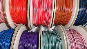 80 COLOURS IN STOCK - 3m of 1mm² 12v 16.5A Automotive car marine wire cable