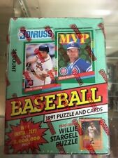 1991 DONRUSS BASEBALL CARDS SEALED BOX SERIES 2 $15.99 SHIPPED