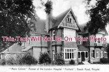 SU 223 - Marie Celeste, Annexe Of The London Hospital, Fairfield, Surrey