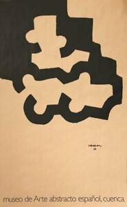 EDUARDO CHILLIDA Museo De Art Abstracto 34 x 21.75 Lithograph 1995 Abstract Brow