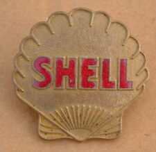 SHELL PETROL OIL TANKER DRIVER ENAMEL CAP BADGE 1