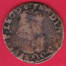 R* LIEGE BELGIUM LIARD COPPER FERDINAND 1612-1650 FINE DETAILS #32791