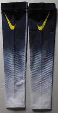 Nike Pro Dri-Fit Haptic Arm Sleeves Binary Blue/Electro Lime Youth L/Xl