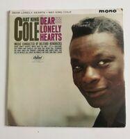 """Nat King Cole, """"Dear Lonely Hearts"""" US Mono Vinyl LP-Capitol T 1838"""