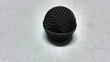 New Black Replacement Mic Ball Mesh Grille Head for Shure SM58 BETA 58A UT2