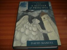 A Matter of Principle: A Faith Abbey Mystery by David Manuel (Hardback 2003) 1ST