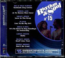 RHYTHM & SOUL N°15 - DISCO FUNK BLACK MUSIC MOTOWN - CD COMPILATION [1967]