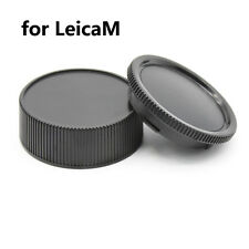 5 sets of Rear Lens + Body Cap for Leica M LM Camera M6 M7 M8 M9 M5 M4 M3