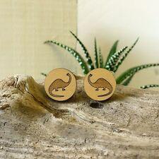 Wooden Spherical Cufflinks for Men