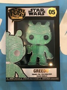 Funko Pop! Pin Star Wars Greedo Chase 05