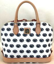 DOONEY & BOURKE PENN STATE WHITE ZIP SATCHEL NWT! $248