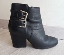 BOTTINES THE KOOPLES 39 TOUT CUIR / BOOTS KOOPLES - TAILLE 39 / THE KOOPLES 39