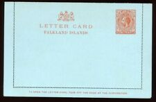 Falklands - 1912 - Postal Stationery - One Penny Letter Card - H&G A1