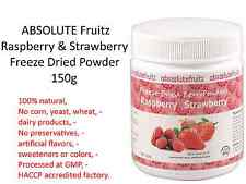 ABSOLUTE Fruitz Raspberry & Strawberry Freeze Dried Powder 150g