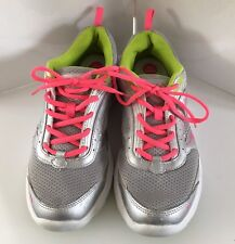 RYKA sneakers Walking shoes 10 M Memory Foam Neon Gray Pink Whisk EU 40