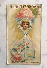 ANTIQUE JELL-O ICE CREAM POWDER ADVERTISING BOOKLET PAMPHLET