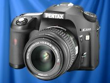 Pentax K200D 10.2MP DSLR Camera, 18-55mm f/3.5-5.6 Lens, EXCELLENT CONDITION