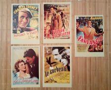 5 carte postale cinéma films années 1940 Romance de Paris Le Diable au corps