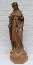 Heilige Maria - Steinzeug / Ton - 72,5 cm