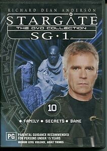 DVD - 'STARGATE The Collectors Edition SG.1 DVD 10'  (Region4)