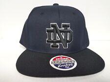 eaaba691f57 Team  Nebraska Cornhuskers. Notre Dame Irish Zephyr Cap Flat Brim Snapback  Z11 Static Hat NCAA