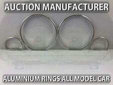 Peugeot Partner I 1996-2002 Polished Aluminium Gauge Rings Chrome Trim Surrounds