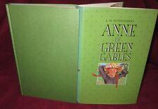 Anne of Green GABLES: L.M. Montgomery.  DELUXE edn  iIllust Linda Arnold.  HbDj