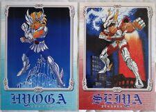 Saint Seiya 2 cartes postales Japon hologramme