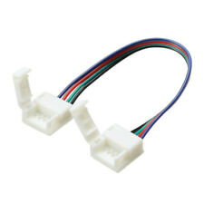 10mm Larghezza 4 Pin Connettori Senza Saldature Extension Cavo Wire: for RGB LED