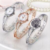 Luxury NEW Ladies Women's Watches Stainless Steel Quartz Analog Wrist Watch PS