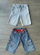Lot de 2 shorts jeans garçon 5 ans MILKSHAKE/MAYORAL, tbe!